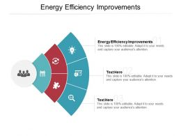 Energy Efficiency Improvements Ppt Powerpoint Presentation Summary Inspiration Cpb