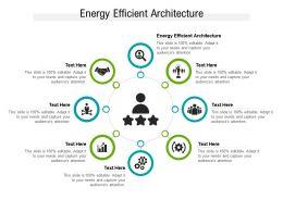 Energy Efficient Architecture Ppt Powerpoint Presentation Portfolio Cpb