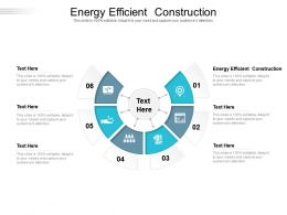 Energy Efficient Construction Ppt Powerpoint Presentation Slides Gallery Cpb