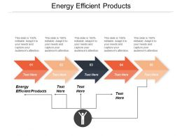 Energy Efficient Products Ppt Powerpoint Presentation Inspiration Smartart Cpb