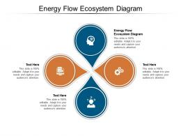 Energy Flow Ecosystem Diagram Ppt Powerpoint Presentation File Example Cpb