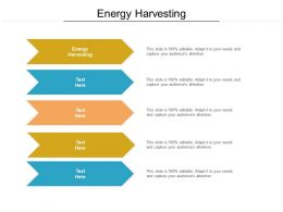 Energy Harvesting Ppt Powerpoint Presentation Layouts Deck Cpb