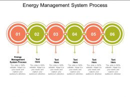 Energy Management System Process Ppt Powerpoint Presentation Professional Samples Cpb