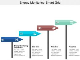 Energy Monitoring Smart Grid Ppt Powerpoint Presentation Gallery Example Introduction Cpb