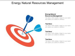 Energy Natural Resources Management Ppt Powerpoint Presentation Ideas Picture Cpb