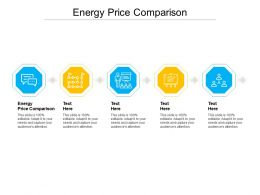 Energy Price Comparison Ppt Powerpoint Presentation Layouts Styles Cpb
