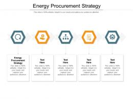 Energy Procurement Strategy Ppt Powerpoint Presentation Slides Influencers Cpb