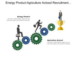 Energy Product Agriculture Actosol Recruitment Promotion Standardized Transactions