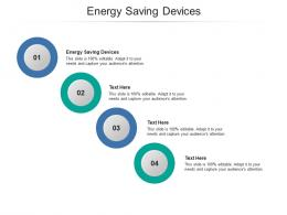 Energy Saving Devices Ppt Powerpoint Presentation Model Deck Cpb