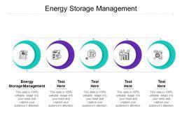 Energy Storage Management Ppt Powerpoint Presentation Slides Cpb