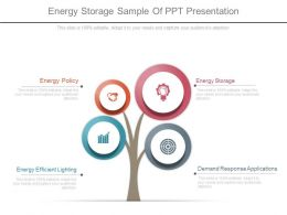 Energy Storage Sample Of Ppt Presentation