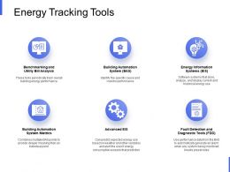 Energy Tracking Tools Technology Ppt Powerpoint Presentation Styles Example File