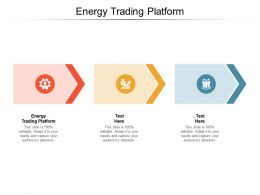 Energy Trading Platform Ppt Powerpoint Presentation Slides Icon Cpb