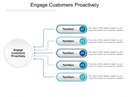 Engage Customers Proactively Ppt Powerpoint Presentation Pictures Graphics Cpb