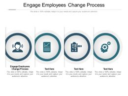 Engage Employees Change Process Ppt Powerpoint Presentation Summary Graphics Cpb
