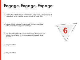 Engage Management Ppt Powerpoint Presentation Professional Guidelines
