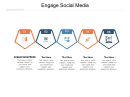 Engage Social Media Ppt Powerpoint Presentation Outline Graphics Cpb
