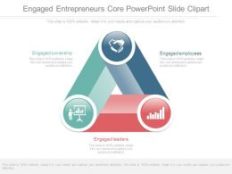 Engaged Entrepreneurs Core Powerpoint Slide Clipart