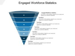 Engaged Workforce Statistics Ppt Powerpoint Presentation Outline Background Images Cpb