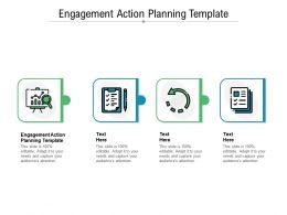 Engagement Action Planning Template Ppt Powerpoint Presentation Slides Gridlines Cpb