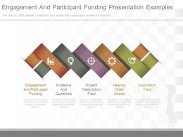 Engagement And Participant Funding Presentation Examples