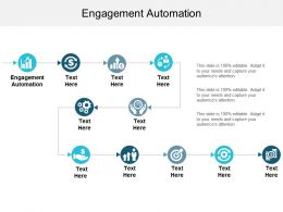 Engagement Automation Ppt Powerpoint Presentation Inspiration Slides Cpb