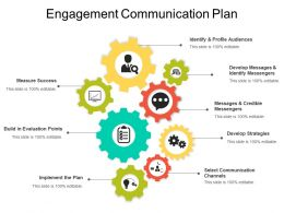 Engagement Communication Plan