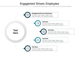 Engagement Drivers Employees Ppt Powerpoint Presentation Professional Graphics Cpb
