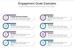 Engagement Goals Examples Ppt Powerpoint Presentation Pictures Sample Cpb
