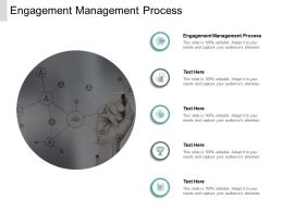 Engagement Management Process Ppt Powerpoint Presentation Icon Cpb
