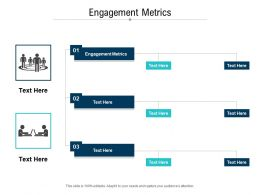 Engagement Metrics Ppt Powerpoint Presentation Icon Design Ideas Cpb