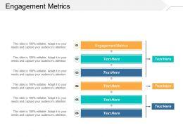 Engagement Metrics Ppt Powerpoint Presentation Inspiration Vector Cpb
