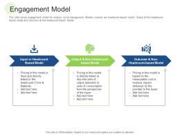 Engagement Model RCM S W Bid Evaluation Ppt Outline Microsoft