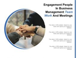 Engagement People In Business Management Team Work And Meetings