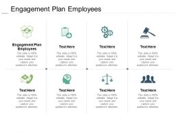 Engagement Plan Employees Ppt Powerpoint Presentation Styles Design Templates Cpb