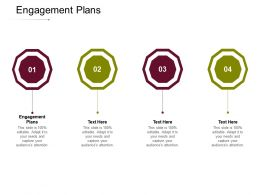 Engagement Plans Ppt Powerpoint Presentation Layouts Influencers Cpb