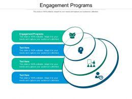 Engagement Programs Ppt Powerpoint Presentation Diagram Ppt Cpb