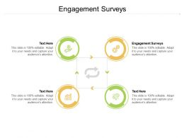 Engagement Surveys Ppt Powerpoint Presentation Icon Design Inspiration Cpb