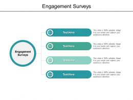 Engagement Surveys Ppt Powerpoint Presentation Slides Visual Aids Cpb