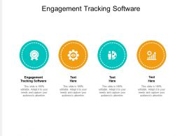 Engagement Tracking Software Ppt Powerpoint Presentation Styles Graphics Tutorials Cpb