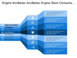 Engine Ancillaries Other Ancillaries Engine Store Consume Energy
