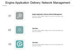 Engine Application Delivery Network Management Ppt Powerpoint Presentation Infographics Aids Cpb