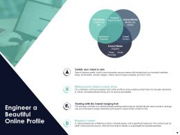 Engineer A Beautiful Online Profile Ppt Powerpoint Presentation Pictures Images