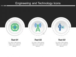 Engineering And Technology Icons