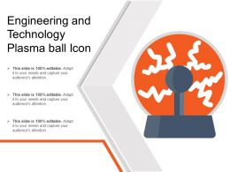 Engineering And Technology Plasma Ball Icon