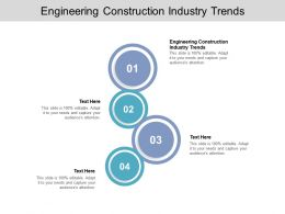 Engineering Construction Industry Trends Ppt Powerpoint Presentation File Example Cpb