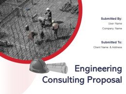 Engineering Consulting Proposal Powerpoint Presentation Slides