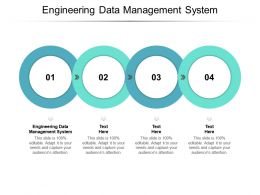 Engineering Data Management System Ppt Powerpoint Presentation Show Cpb