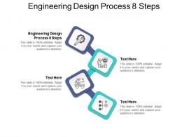 Engineering Design Process 8 Steps Ppt Powerpoint Presentation Outline Layouts Cpb