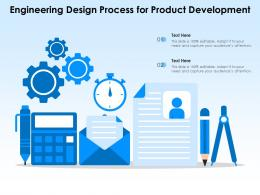Engineering Design Process For Product Development